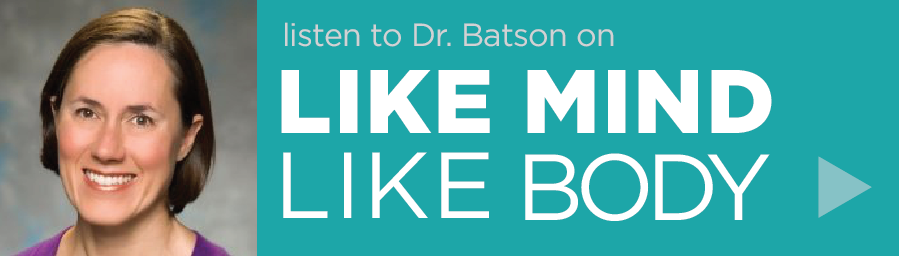 "Alicia Bond Batson, MD, on Curable Podcast ""Like Mind Like Body"""